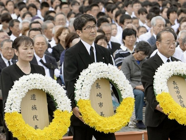 Japonsko si dnes připomnělo 69. výročí svržení jaderné bomby na město Nagasaki.