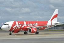 Letecká společnost AirAsia. Ilustrační foto.