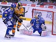 Litvínov - Brno: Druhý zápas série a pozorný Marek Čiliak