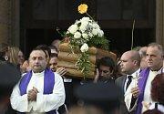 Pohřeb maltské novinářky