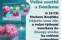 VELKÁ SOUTĚŽ S DENÍKEM O 10 CD Václava Krejčíka.