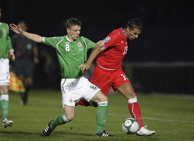 Čeští fotbalisté remizovali v kvalifikačním zápase o MS 2010 se Severním Irskem 0:0