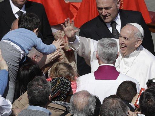 Papež František po své každoroční velikonoční mši.