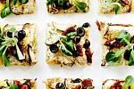polentová pizza s lilkem