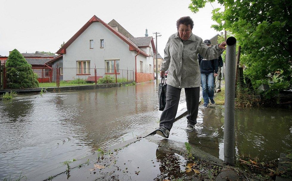 Povodeň v Polné na Jihlavsku v roce 2013