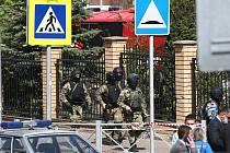 Střelba na škole v ruské Kazani