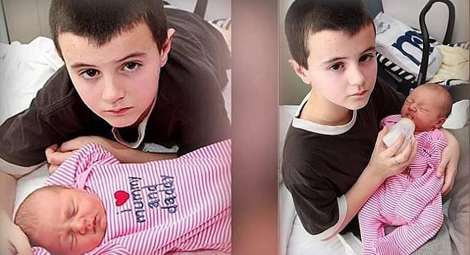 Sean Stewart se stal nejmladším otcem ve Velké Británii