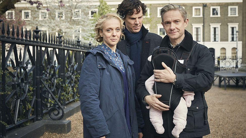 ze seriálu Sherlock