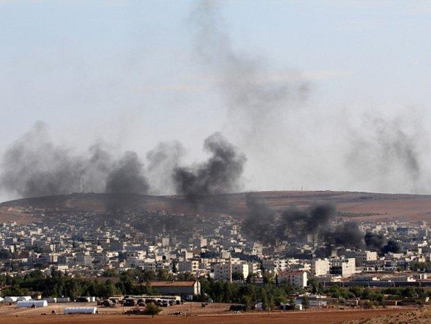 Boje v Sýrii. Ilustrační foto.