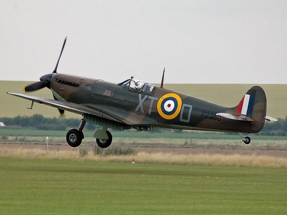 Legendární spitfire