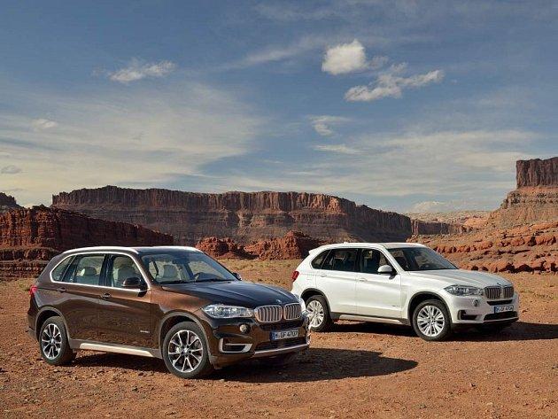 Třetí generace BMW X5.