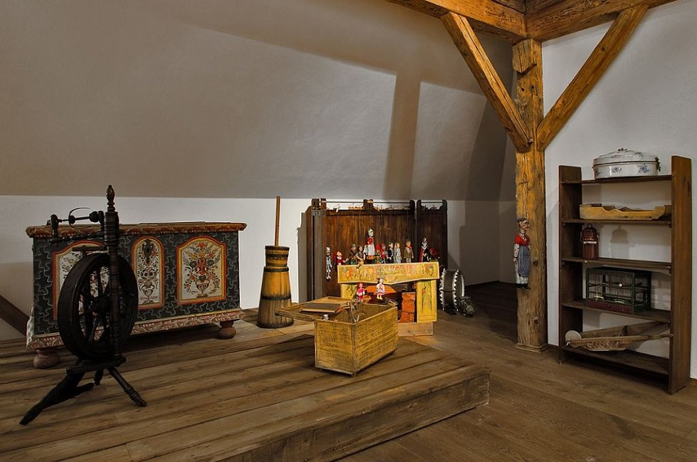 Dům manželů Scheybalových v Jablonci.