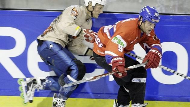 Inline hokej - ilustrační foto