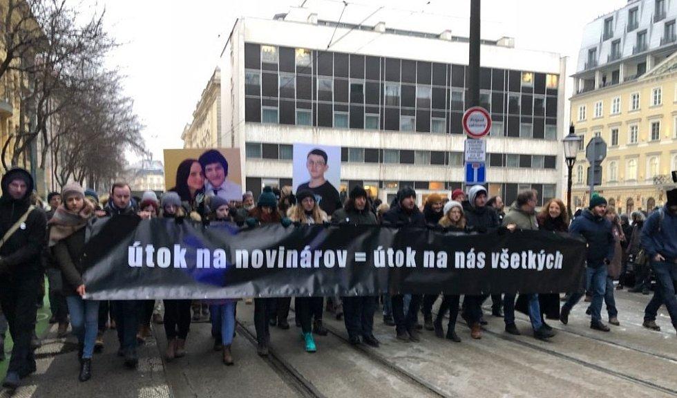 Pietní akce v Bratislavě