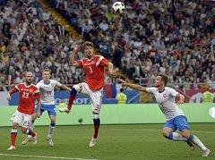 Češi prohráli s Ruskem jasně 1:5.