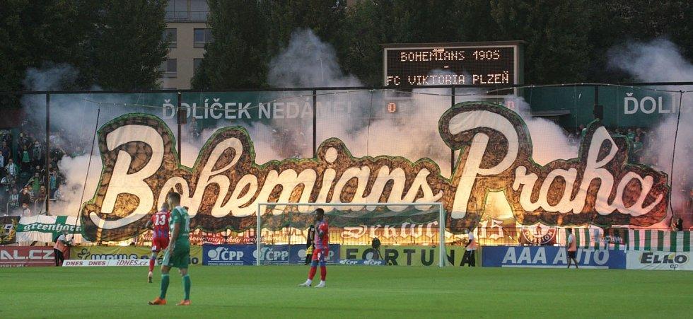 Bohemians Praha - Viktoria Plzeň, FORTUNA:LIGA, 4. kolo