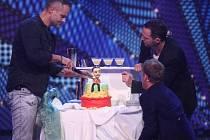 Jaro Slávik slavil narozeniny přímo v televizi.