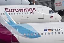 Letadla společnosti Eurowings