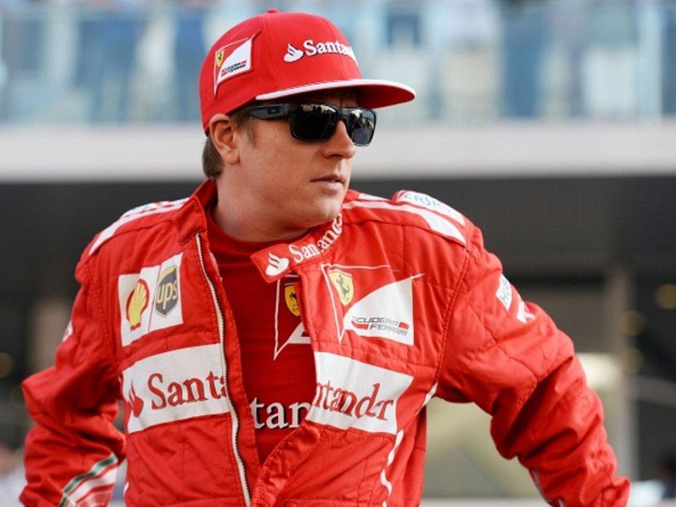 Jezdec F1 Kimi Räikkönen.