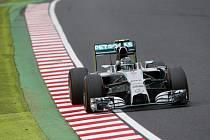 Nico Rosberg v kvalifikaci na Velkou cenu Japonska.