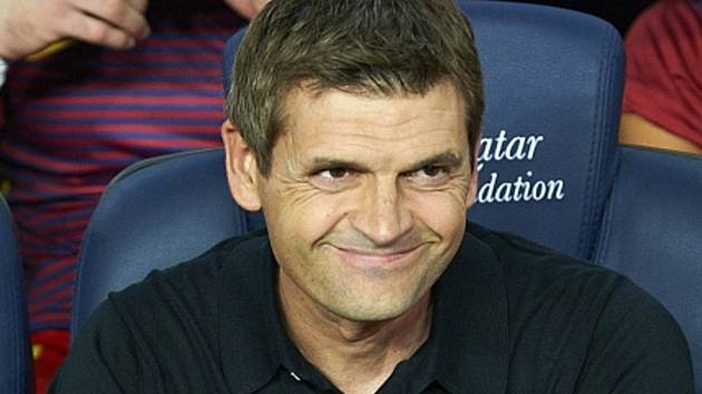 Trenér Barcelony Tito Vilanova.