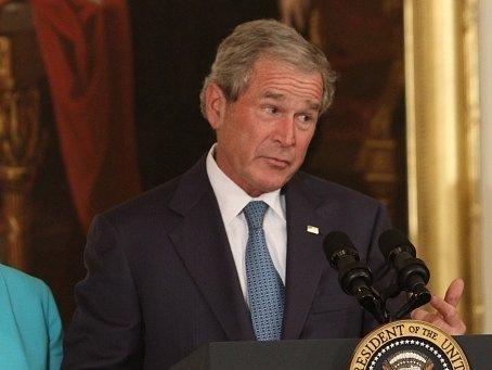 Bývalý americký prezident George Bush