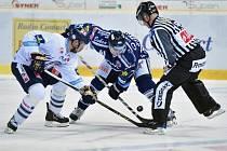 Ze zápasu Bílí Tygři Liberec - HC Vítkovice