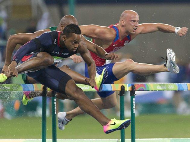 Petr Svoboda (vpravo) na olympijských hrách v Riu.