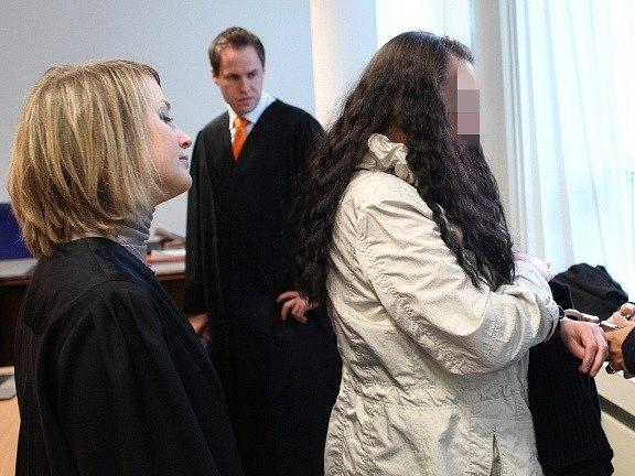 Melanie-Christin Maria Bernhartová v soudní síni
