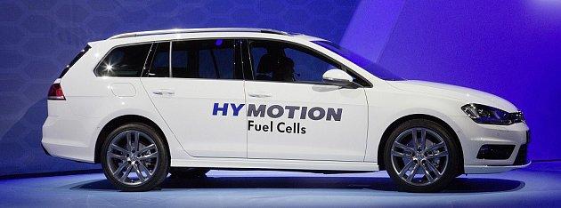 Volkswagen Golf Variant HyMotion.