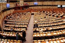 Evropský parlament v Bruselu