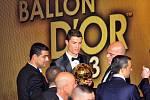 Cristiano Ronaldo získal Zlatý míč