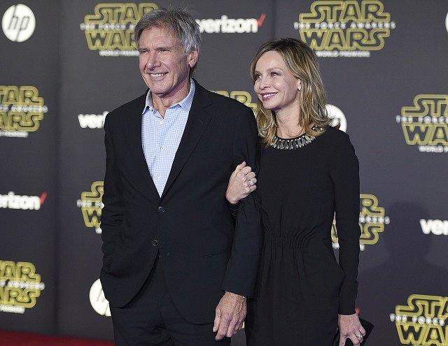Harrison Ford a Calista Flockhart.