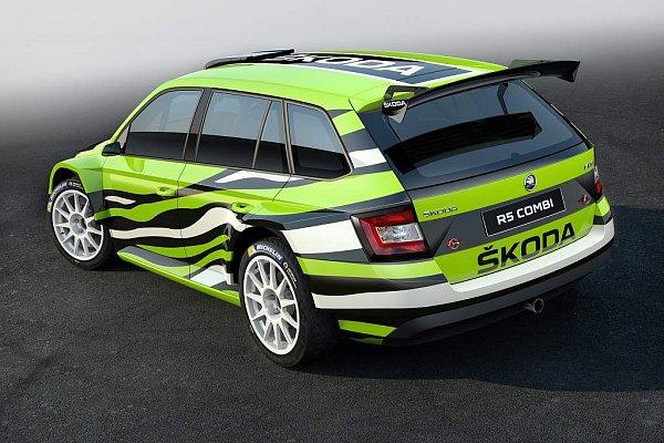 Koncept Škoda Fabia R5 Combi.