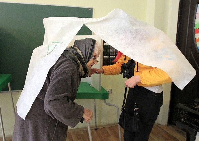 Prezidentské volby v Gruzii.