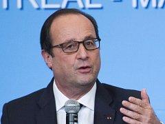 Francouzský prezident François Hollande.