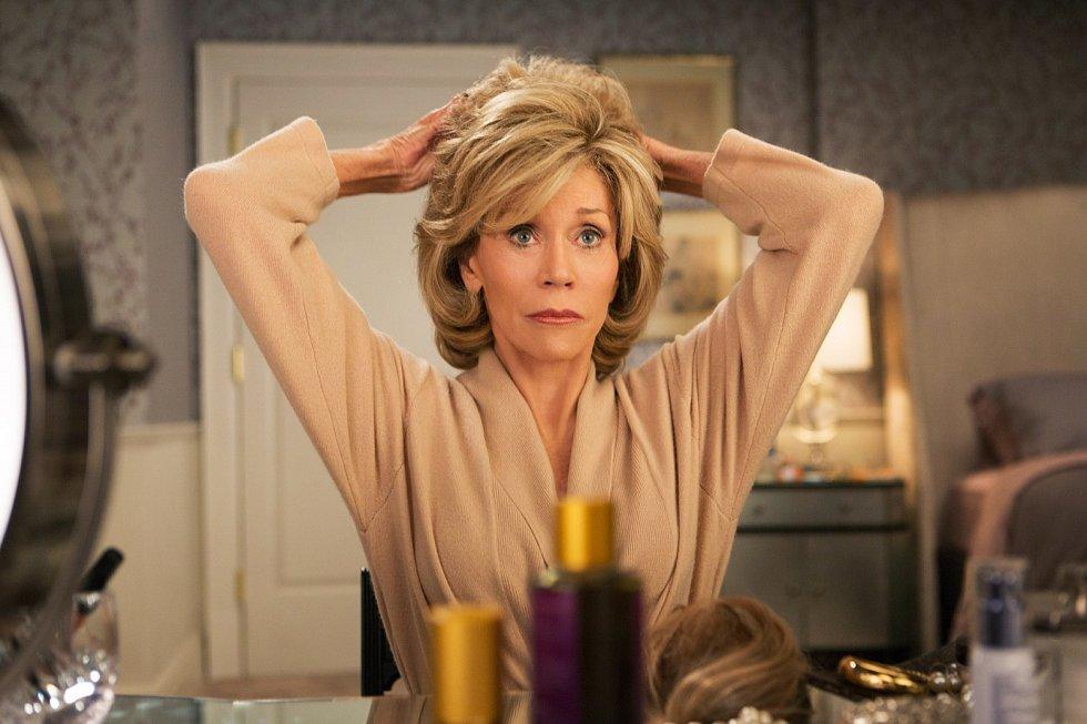 Jane Fonda v seriálu Grace a Frankie