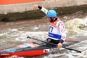 Lukáš Rohan vyhrál v Troji závod kanoistů.