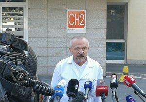 Nemocnice odeslala Senátu zprávu o Zemanovi. Vystrčil si promyslí další postup