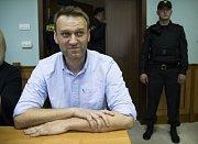 Vůdce ruské opozice Alexej Navalnyj