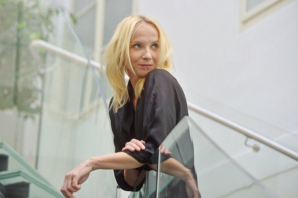 Herečka Jana Plodková.
