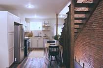 Kuchyňka po proměně