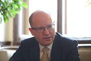Expremiér Bohuslav Sobotka oznámil konec v Poslanecké sněmovně.