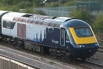 Vlak skotského železničního dopravce ScotRail. Ilustrační foto.