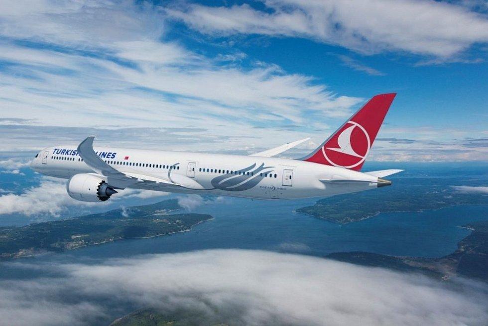 Boeing 787-9 v barvách Turkish Airlines