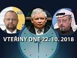 Přiznání vraždy, polští konzervativci na koni a jedenáctá milost: Vteřiny dne