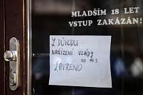Uzavřená restaurace v Praze