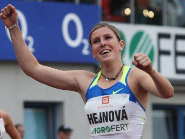 Zuzana Hejnová na Zlaté tretře.