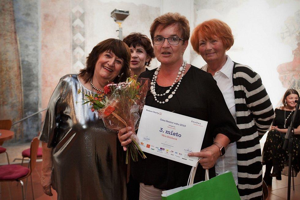 Věra Stichová si odnesla 3. místo