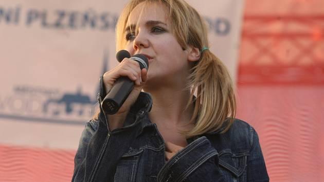 Lucie Vondráčková.